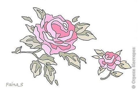 Подушка «Роза». Подушка выполнена по книге Тоне Финнангер «Тильда. Загородный дом». В книге описано, как сшить подушку, но нет описания вышивки розы. Поэтому предлагаю мастер-класс по вышивке гладью с настилом.<br /><br /><br /> фото 3