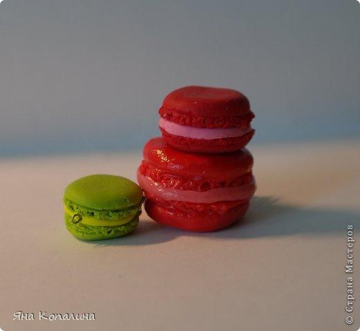 Чтобы сделать вот такой макарон, вам понадобится: 1. Пластика (например темно-розового цвета и светло-розового для начинки) 2. Зубочистки 3. Скалка или акриловый ролик 4. Штифт 5. Фурнитура для сборки(цепь, колечки) 6. Каттер или любая кругла формочка 7. Канцелярский нож или лезвие 8.  Суперклей 9.  Лак для полимерной глины (глянцевый или матовый) 10. Пищевая пленка