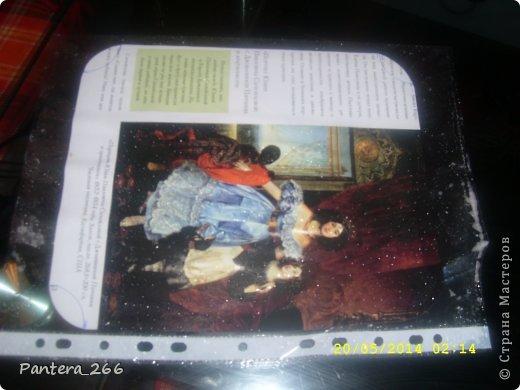 Декор предметов Мастер-класс Аппликация из скрученных жгутиков Декупаж Декупаж ноутбука в сочетании с техникой Пейп-арт Бумага Клей Краска Салфетки фото 5
