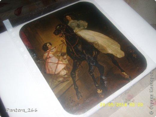Декор предметов Мастер-класс Аппликация из скрученных жгутиков Декупаж Декупаж ноутбука в сочетании с техникой Пейп-арт Бумага Клей Краска Салфетки фото 6