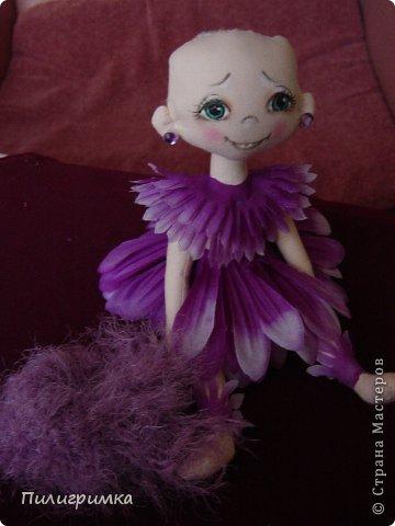 Куклы Мастер-класс Шитьё   Цветики Мини-МК Ткань фото 14