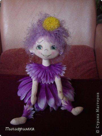 Куклы Мастер-класс Шитьё   Цветики Мини-МК Ткань фото 20