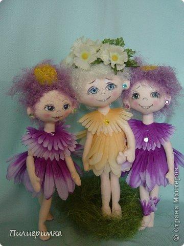 Куклы Мастер-класс Шитьё   Цветики Мини-МК Ткань фото 21