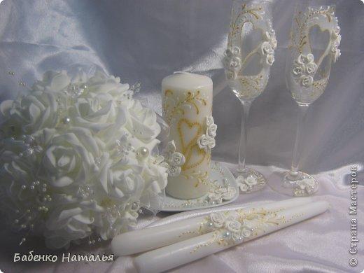Свадебное и плюшевые букеты. фото 11