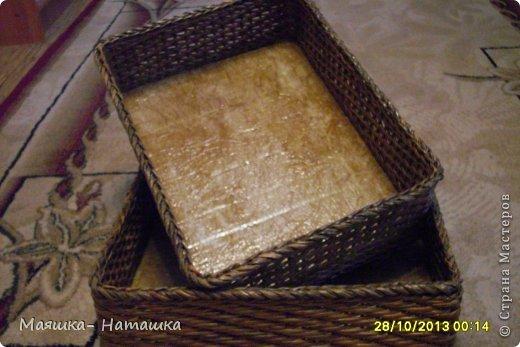 Ну и еще несколько плетушек.  Это наборчик из двух одинаковых коробочек. фото 3