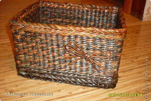 Ну и еще несколько плетушек.  Это наборчик из двух одинаковых коробочек. фото 9