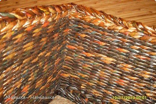 Ну и еще несколько плетушек.  Это наборчик из двух одинаковых коробочек. фото 10