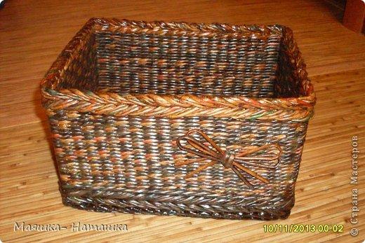 Ну и еще несколько плетушек.  Это наборчик из двух одинаковых коробочек. фото 14