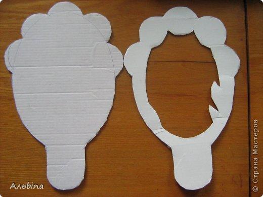 Зеркало из картона своими руками