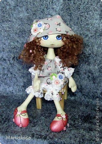 Куклы Мастер-класс Шитьё Мастер-класс Принцесса на горошине или как я делаю своих куколок Краска Ткань Шерсть фото 2