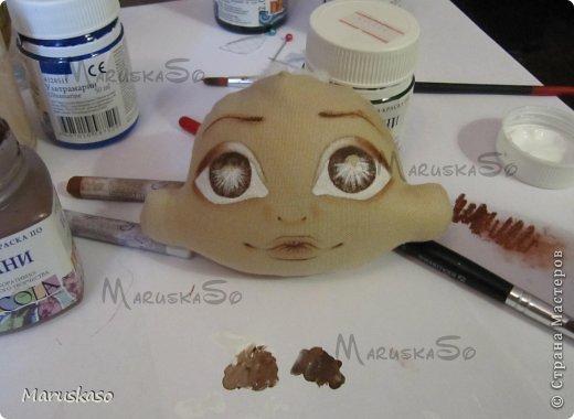 Куклы Мастер-класс Шитьё Мастер-класс Принцесса на горошине или как я делаю своих куколок Краска Ткань Шерсть фото 39