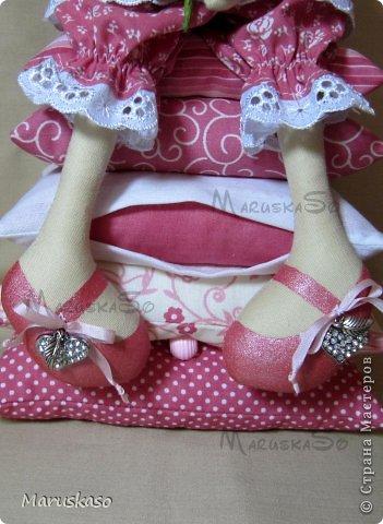 Куклы Мастер-класс Шитьё Мастер-класс Принцесса на горошине или как я делаю своих куколок Краска Ткань Шерсть фото 49