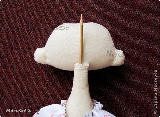 Куклы Мастер-класс Шитьё Мастер-класс Принцесса на горошине или как я делаю своих куколок Краска Ткань Шерсть фото 43