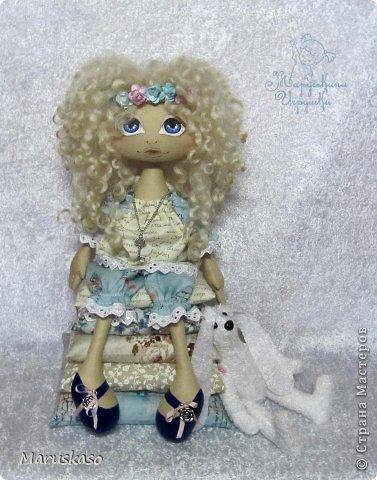 Куклы Мастер-класс Шитьё Мастер-класс Принцесса на горошине или как я делаю своих куколок Краска Ткань Шерсть фото 50