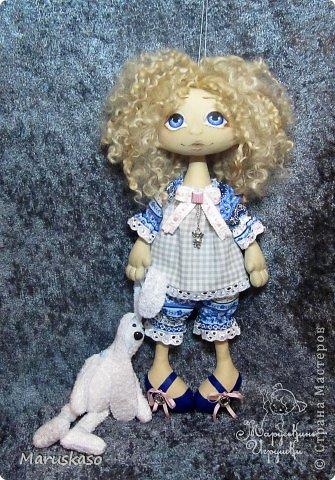 Куклы Мастер-класс Шитьё Мастер-класс Принцесса на горошине или как я делаю своих куколок Краска Ткань Шерсть фото 1