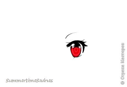 Итак,для того чтобы нарисовать глаз в Paint tool sai нам нужно сделать лайнер. Для этого мы открываем в SAI любой рисунок и делаем лайнер глаза,либо можете нарисовать лайнер сами без готового рисунка. фото 16