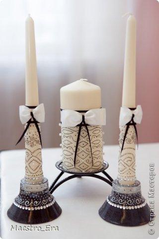 Здравствуйте! представляю Вашему вниманию черно-белый набор для свадьбы, оформленной в черно-белой стилистике. фото 9
