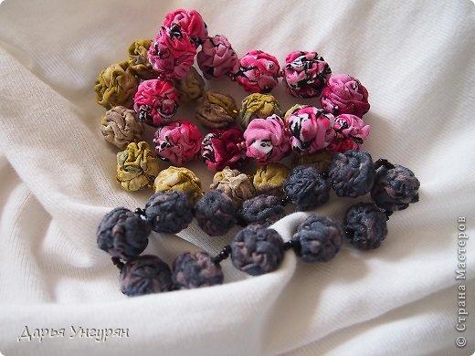 Мастер-класс Шитьё Текстильные браслеты Ткань фото 1