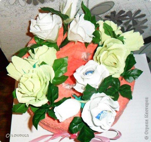добрый день жители СМ .сегодня я к вам  с полотенечным тортиком .фото делалось второпях как всегда так что простите за фон . фото 3