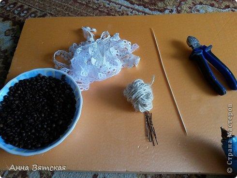 Мастер-класс Поделка изделие Моделирование конструирование Джутовый зонтик из шпилек-экспресс вариант фото 2