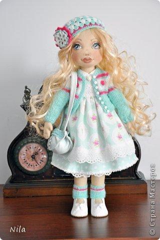 Текстильная кукла Белла фото 2