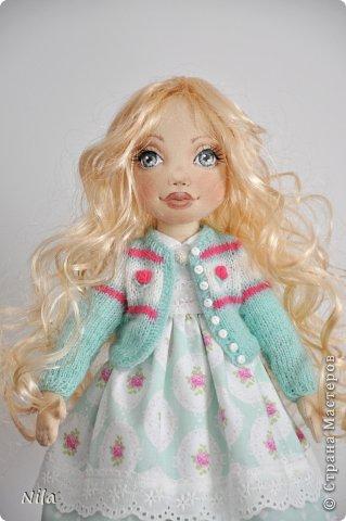 Текстильная кукла Белла фото 3
