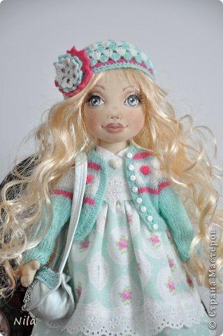 Текстильная кукла Белла фото 1