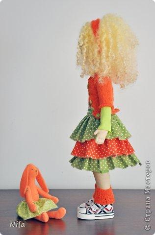Текстильная кукла Златка фото 4
