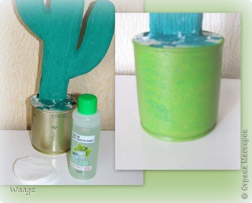 Предлагаю вам сделать вот такой кактус для временного хранения бижутерии. фото 11