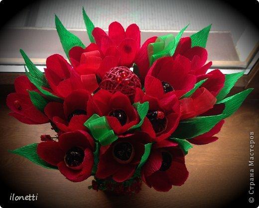 конечно  же  тюльпаны)) Продалжаю  выставлять  на  ваше  обозрение,  дорогие  мастерицы,  свои  работы) фото 14