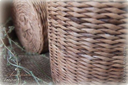 Здравствуйте!!!  Туесочки сегодня. Я ведь собрала чабрец,а хранить не в чем,поэтому сплела туесочки и сшила мешочки. фото 3