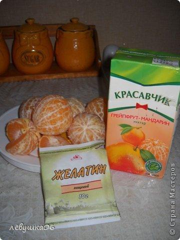 Кулинария Мастер-класс Рецепт кулинарный желе из мандаринов Овощи фрукты ягоды Продукты пищевые фото 2