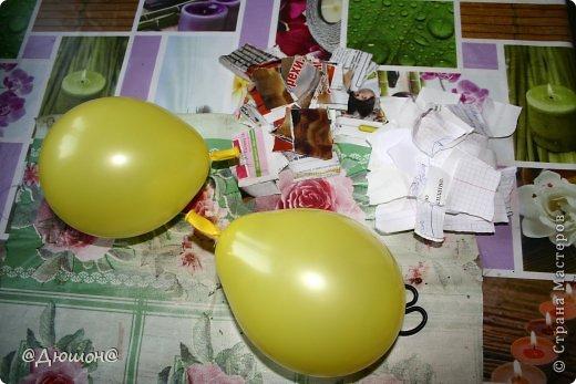 Мастер-класс Поделка изделие Папье-маше МК - жабика копилка Бумага Клей Краска фото 2