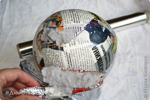 Мастер-класс Поделка изделие Папье-маше МК - жабика копилка Бумага Клей Краска фото 12