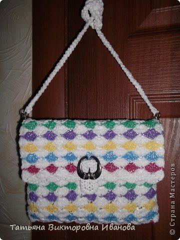 Здравствуйте, жители страны мастеров! Сегодня я вам представляю новую коллекцию сумок из полиэтиленовых пакетов. Первая сумка пляжная. фото 10