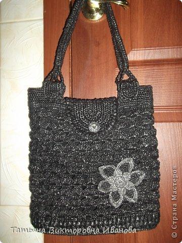 Здравствуйте, жители страны мастеров! Сегодня я вам представляю новую коллекцию сумок из полиэтиленовых пакетов. Первая сумка пляжная. фото 4