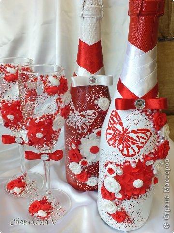 Свадебный летний набор с бабочками)) Цветы слеплены из пластики, бисер, бусины, бабочки переведены при помощи трафарета)