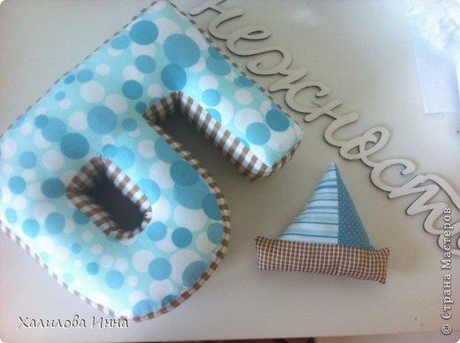 рождения Шитьё Буквы подушки Ткань