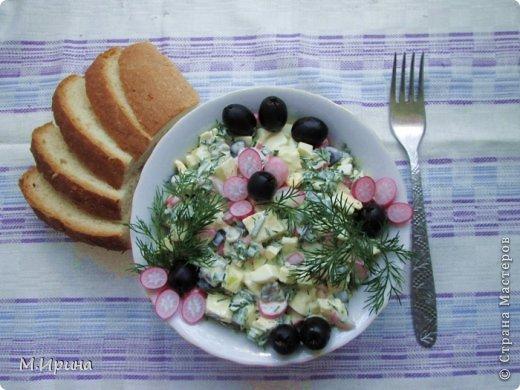Летний салат, который легко приготовить даже на пикнике. фото 1