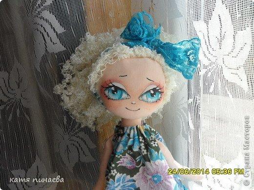 Игрушка Куклы Шитьё Василиса Прекрасная + Выкройка Ткань фото 1