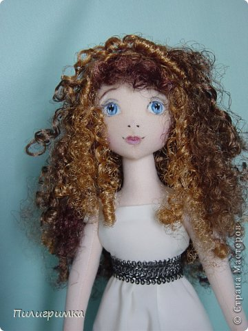 Куклы Мастер-класс Моделирование конструирование Волосы из атласной ленты Ленты фото 1