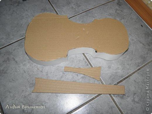 Скрипка своими руками для куклы 31