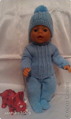 Вязание для кукол беби борн схемы размеры