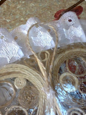 Мастер-класс Поделка изделие Моделирование конструирование Филигранный веер МК Проволока Шпагат фото 41