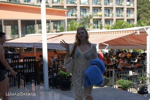 Вот такое платье! Легкое и очаровательное! Схема из Журнала мод 2008 Автор модели Анна Вититина. Пряжа Орион от Вита Котон (50/50 хлопок с вискозой) расход 450 гр (9 моточков) крючок 2,5. фото 8