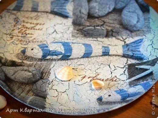 Декор предметов Мастер-класс Декупаж Обратный декупаж Декор тарелки Краска Салфетки Стаканы фото 8