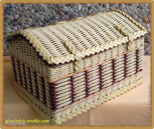 Хлебница своими руками из газетных трубочек мастер