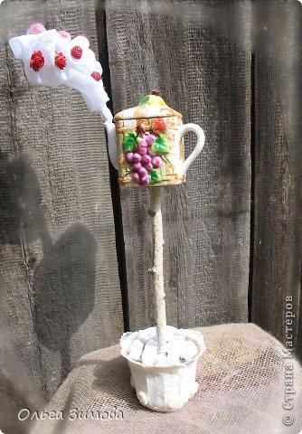 Давно сделала вот такой весёлый, парящий  чайник, да всё времени нет выложить фото.... фото 1