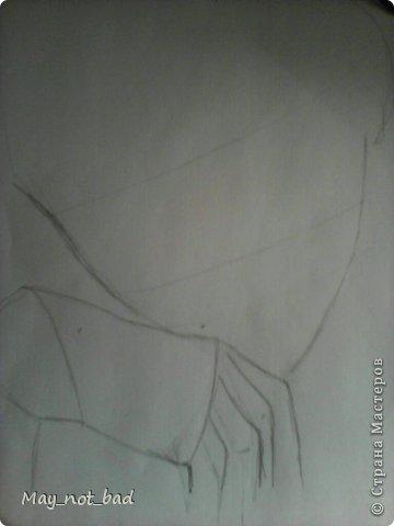 Для рисования на понадобится - карандаш, стерка, как всегда)) фото 4