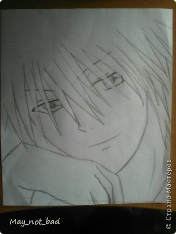 Для рисования на понадобится - карандаш, стерка, как всегда)) фото 7